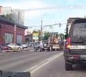 ДТП с трактором попало на видео