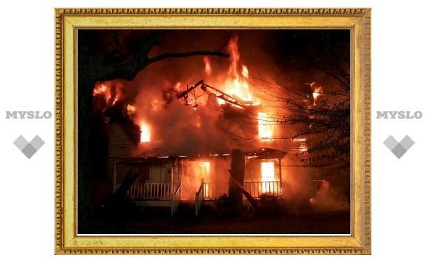 В Туле заживо сгорела женщина 92-х лет