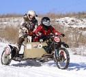 Гонки на мотоциклах: в Туле состоялся зимний мотослет «Самовар Треффен»