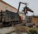В Туле на ул. Пирогова снесли незаконные постройки