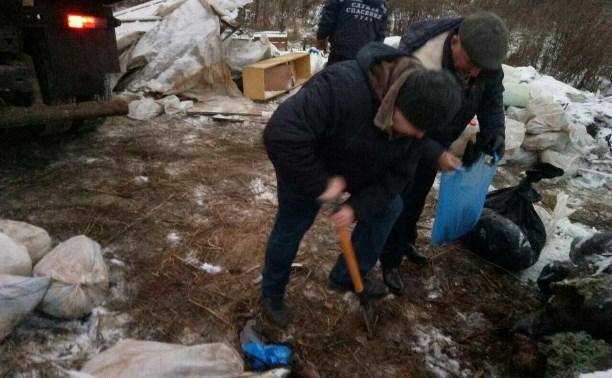 Опасные химикаты с незаконной свалки в Туле принадлежали предприятию «Щегловский вал»
