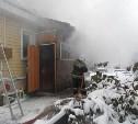 В Туле жилой дом тушили 14 пожарных