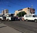 Тройное ДТП на Зеленстрое: Въезд в город серьезно затруднен