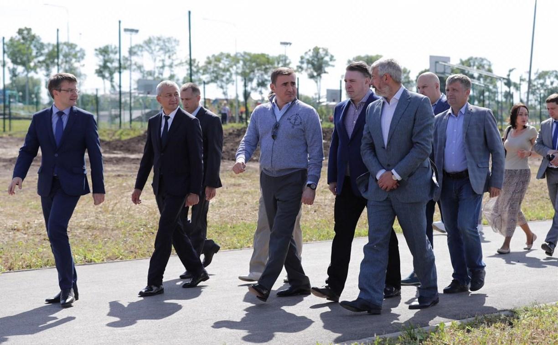 Спорткомплекс с ледовой ареной в Ефремове построят к лету 2020 года