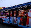 На улицы Тулы выехал оркестр из Дедов Морозов