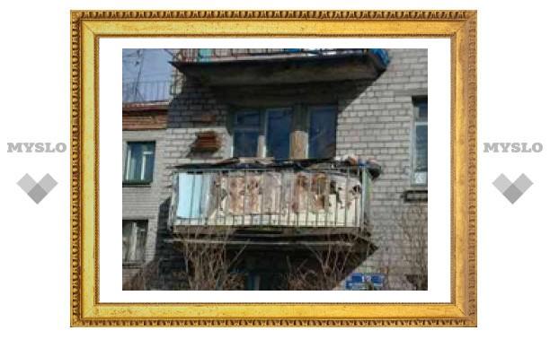 Тулячка, спрыгнувшая с балкона, выжила чудом!