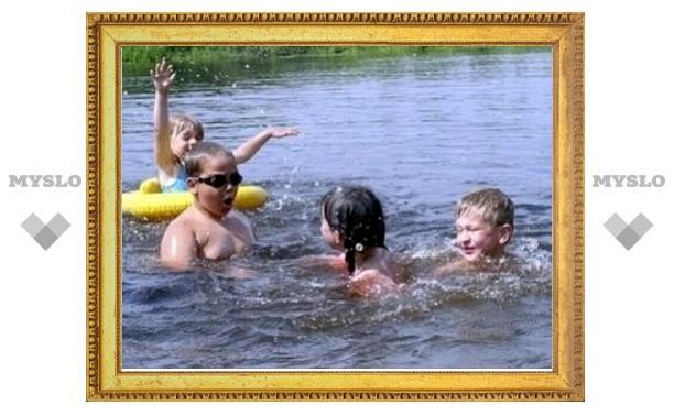 В пруду Центрального парка запретили купаться