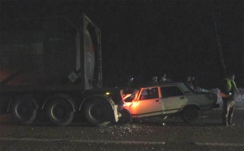 На трассе «Тула-Новомосковск» погиб водитель ВАЗ-2107