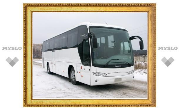 Под Тулой разбился пассажирский автобус