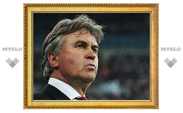 Хиддинк попал в десятку лучших тренеров футбольных сборных