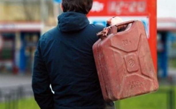 В Ясногорске дачный вор украл 30 литров бензина