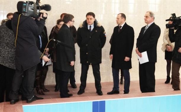 В Узловой после реконструкции открылся бассейн