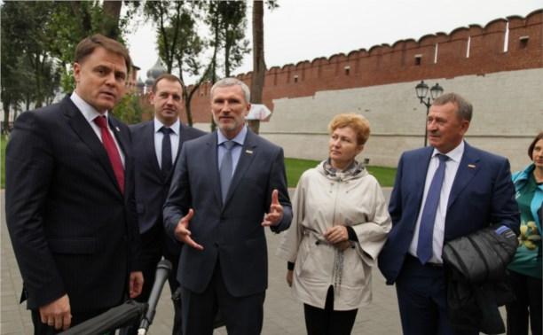 Алексей Журавлёв: «Кремль должен стать местом паломничества для всех туляков!»