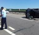 В Тульской области перевернулся Mitsubishi: среди пострадавших двое детей