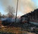 При пожаре в Белевском районе пострадали два человека