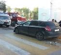 В столкновении двух иномарок в Ясногорске пострадала женщина