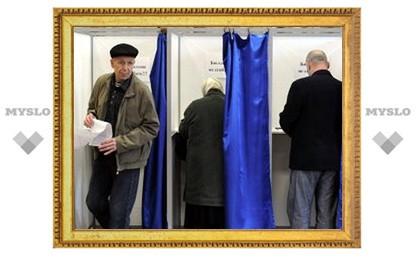 Средняя явка на выборы депутатов в МО Тульской области составила 35,35%