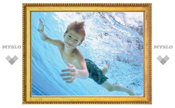 Юных туляков научат плавать