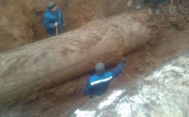 Водоснабжение в Пролетарском районе Тулы полностью восстановлено