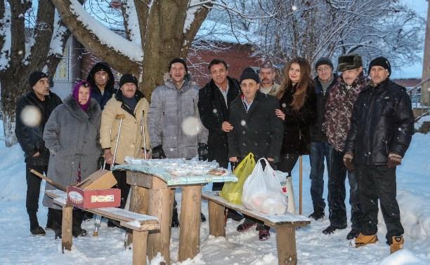Соцпроект «Через тернии к звездам» поздравил с Новым годом тульских бездомных