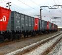 С начала апреля тульские железнодорожники перевезли почти 9000 тонн продуктов