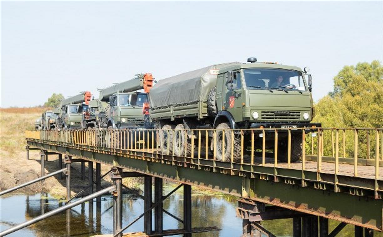 В 2020 году Минобороны построит в Тульской области пять мостов