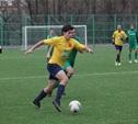 В чемпионате Тульской области по футболу сыграны матчи пятого тура