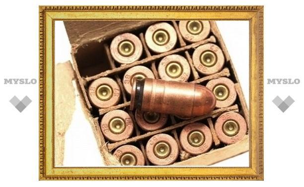 Тульского полицейского обвиняют в незаконном хранении оружия