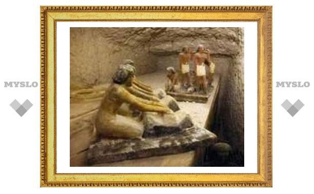 Под Тулой раскопали древнеегипетскую гробницу