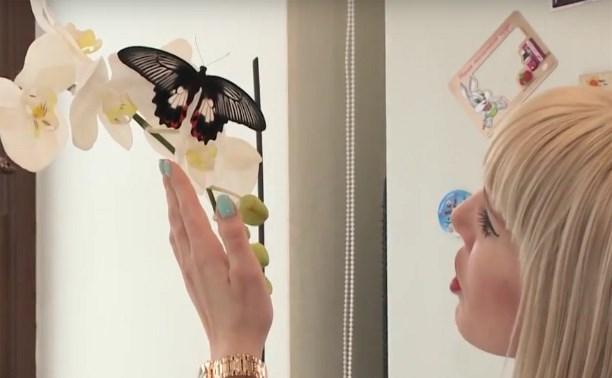 У семьи Максимовых в квартире летают бабочки