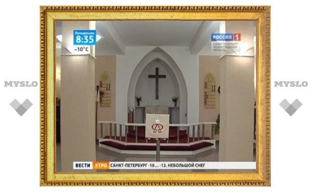 В Петербурге обокрали лютеранскую церковь