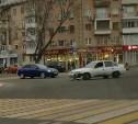 В Туле из-за ДТП на Красноармейском проспекте образовалась пробка