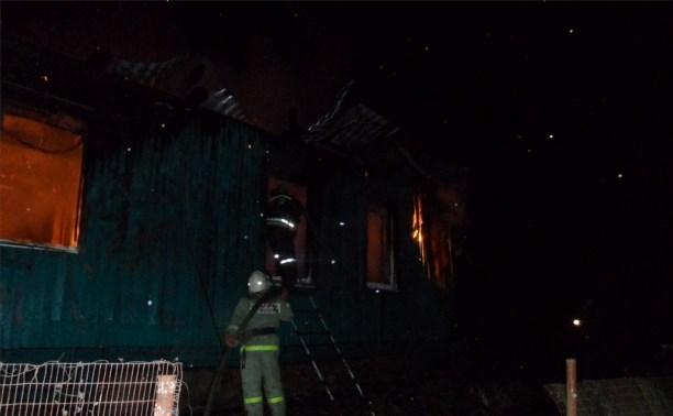 Ночью в Слободке сгорели дом и припаркованный рядом «Сузуки»