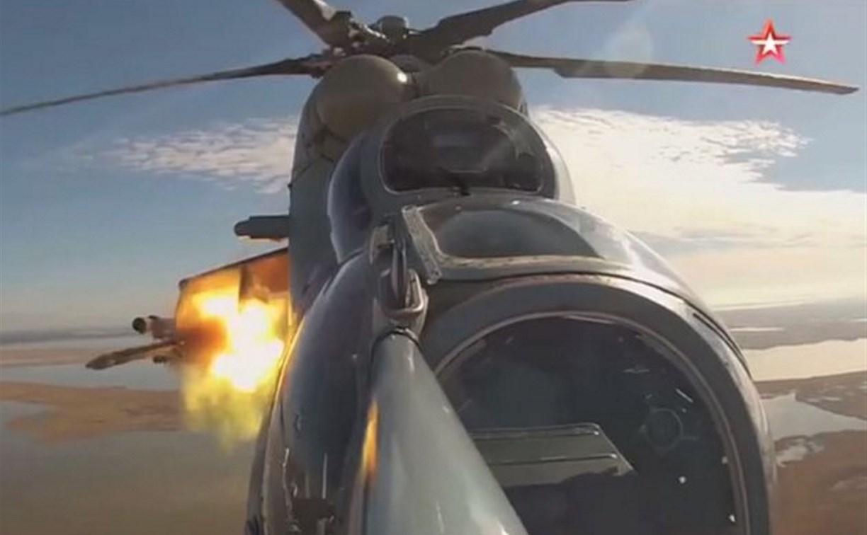 Пуск тульских ракет «Бронебойщик» попал на видео