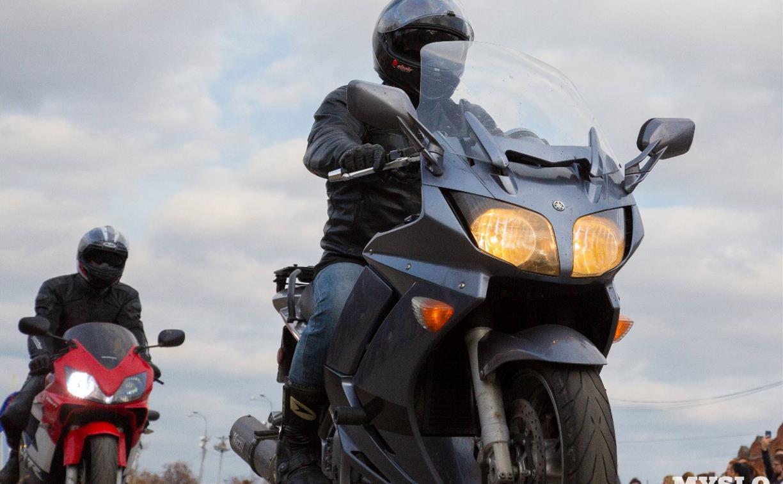 Госавтоинспекция назвала самые частые нарушения ПДД тульскими байкерами