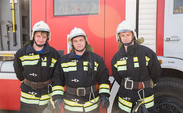 Спасатели отметили 365 лет со дня создания пожарной охраны России