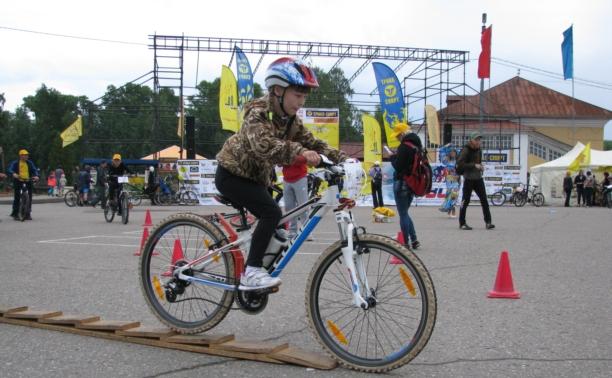 Тульские велосипедисты обогнали всех в Угличе