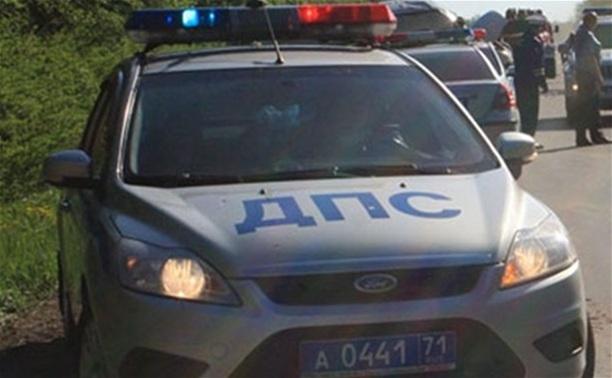 В Щёкинском районе несовершеннолетний водитель сбил девочку