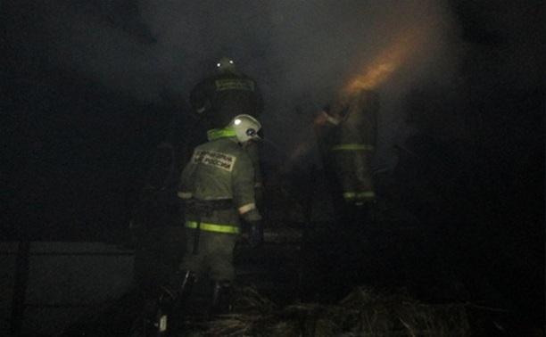 Пожар в частном доме в Дубенском районе: один погибший