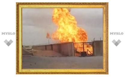В Египте взорвали газопровод