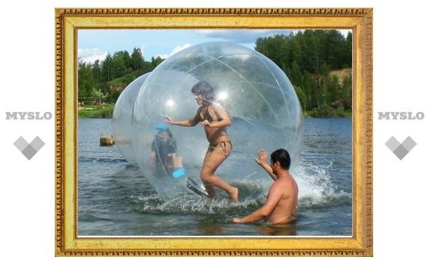«Слобода» приглашает побегать в пузыре