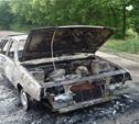 В Богородицке девять пожарных тушили «девятку»