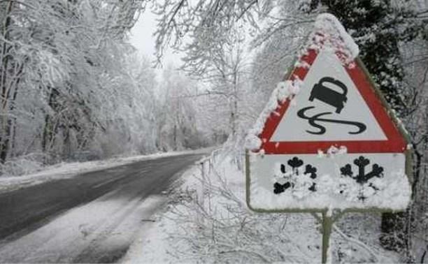 На дороге «Быковка-Богородицк» перевернулся автомобиль