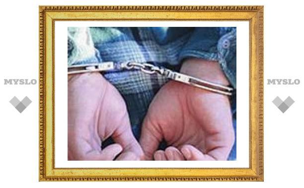 В Тульской области задержали майора милиции