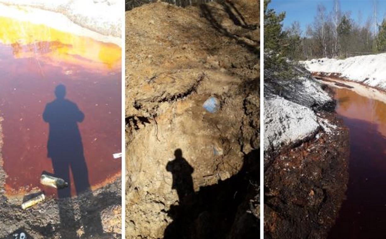 Под Тулой незаконно захоронили более 3 млн литров нефтепродуктов