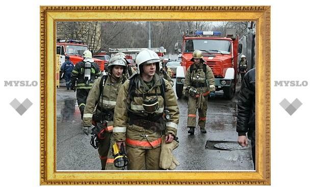 В Туле уменьшилось количество пожаров