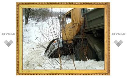 В Туле произошла страшная авария