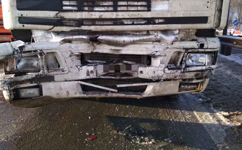 Дальнобойщик из Тульской области устроил серьезное ДТП в Чебоксарском районе