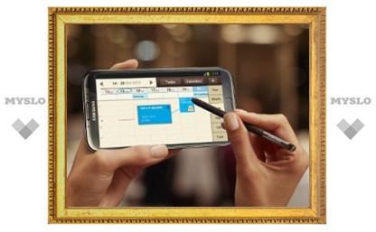 Galaxy Note II поступил в продажу в России