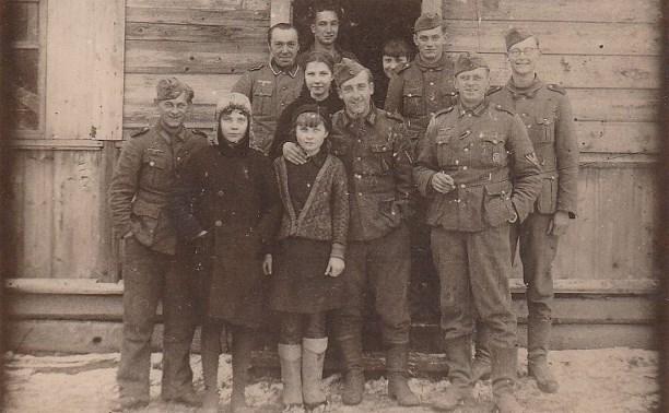 Фотография немцев в Щекино в период Великой Отечественной войны продана за 41,50 евро